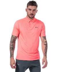 Under Armour Performance 2.0 Polo - Pink