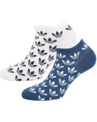 adidas Originals - 2 Pack Trefoil Liner Socks - Lyst