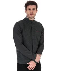 Ted Baker Goodput Full Zip Sweatshirt - Grey
