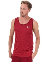 Under Armour Tech 2.0 Tank Top - Red
