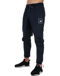 adidas Woven Trousers - Blue