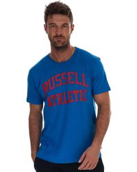 Russell Athletic Crew Neck T-shirt - Blue
