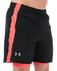 Under Armour Launce Sw 2-in-1 Shorts - Black