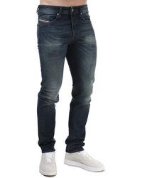 DIESEL Buster Regular Slim-tapered Jeans - Blue