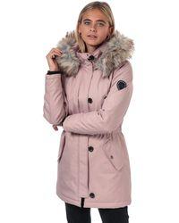 ONLY Iris Winter Parka Jacket - Pink