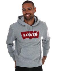 Levi's Graphic Logo Hoody - Grey