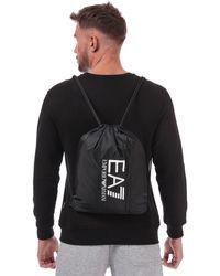 EA7 Drawstring Backpack - Black