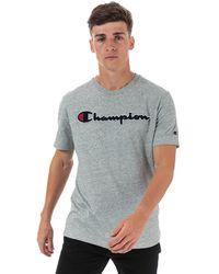 Champion Large Logo T-shirt - Grey