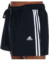 adidas 3-stripes Clx Swim Shorts - Blue