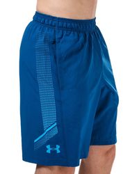 Under Armour Woven Graphic Shorts - Blue