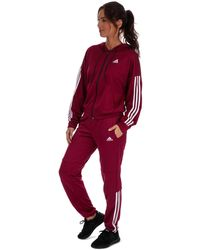adidas Game Time Aeroready Track Suit - Red