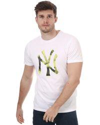 KTZ Team Logo New York Yankees T-shirt - White
