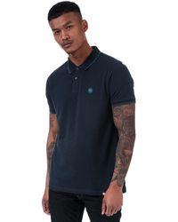 Pretty Green Barton Polo Shirt - Blue
