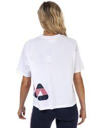 Fila Laboni Textured Graphic T-shirt - White