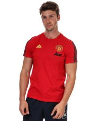 adidas Manchester United T-shirt - Red