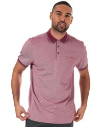 Ted Baker Handie Oxford Polo Shirt - Pink
