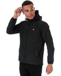 Lyle & Scott Microfleece Lined Zip Through Jacket - Black