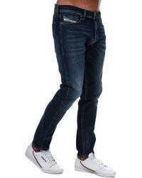 DIESEL Tepphar Slim-carrot Jeans - Blue