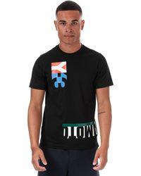 Y-3 Multi Block Grapic T-shirt - Black