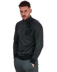 Under Armour Af 1/2 Zip Sweatshirt - Black