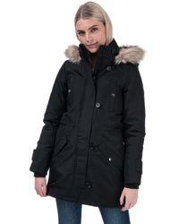 Vero Moda Excursion Expedition Parka Jacket - Black