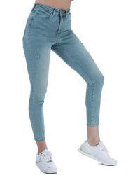 Vero Moda Sophia High Waist Skinny Fit Jeans - Blue