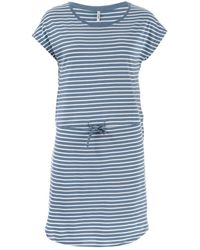 ONLY May Life Stripe Dress - Blue
