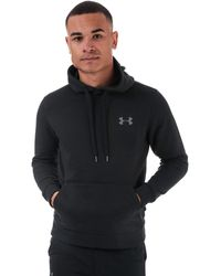 Under Armour Ua Rival Fleece Fitted Hoody - Black