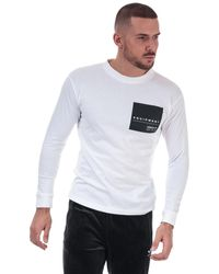 adidas Originals Eqt Long Sleeve Graphic T-shirt - White