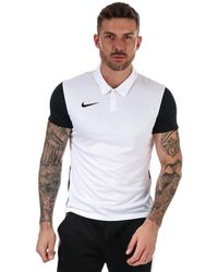 Nike Trothy Iv Polo Shirt - White
