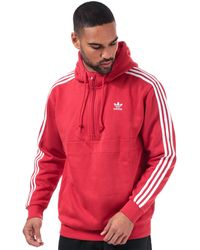 adidas Originals 3-stripes Hoody - Red