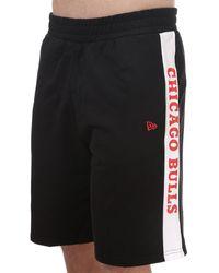 KTZ Contrast Chicago Bulls Shorts - Black