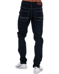 Ben Sherman Rinse Wash Slim Fit Jeans - Blue