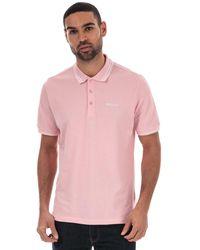 Ben Sherman Twin Tipped Polo Shirt - Pink