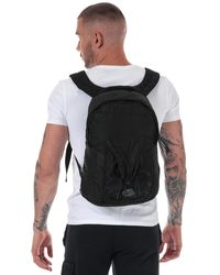 C P Company Garment Dyed Nylon Sateen Backpack - Black