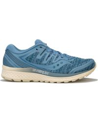 Saucony Guide Iso 2 Running Shoes - Blue