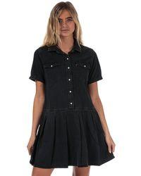 Levi's Mirai Western Denim Dress - Black