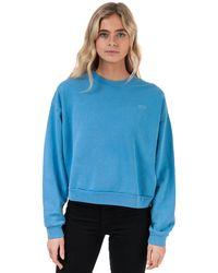 Levi's Diana Crew Neck Sweatshirt - Blue