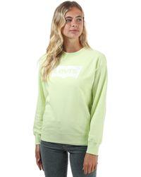 Levi's Graphic Standard Crew Neck Sweatshirt - Green