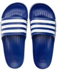 adidas Duramo Slide - Blue
