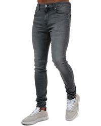 Calvin Klein Super Skinny Jeans - Black