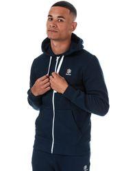 Reebok Classics Fleece Full Zip Hoody - Blue