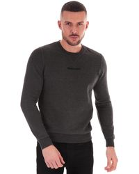 Henri Lloyd Logo Crew Neck Sweatshirt - Grey