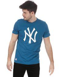 KTZ Team Logo New York Yankees T-shirt - Blue