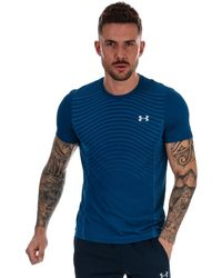 Under Armour Seamless Wave T-shirt - Blue
