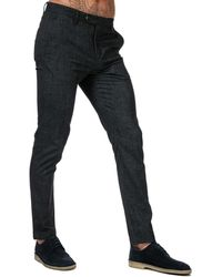 Ted Baker Haloe Super Slim Plain Trousers - Grey