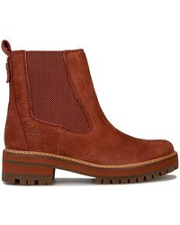 Timberland Courmayeur Valley Chelsea Boots - Brown
