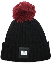 Weekend Offender Gerdai Knit Bobble Hat - Black