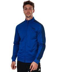 adidas Essentials 3-stripes Tricot Track Top - Blue
