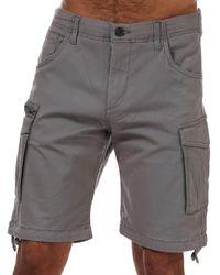 Jack & Jones Basic Cargo Short - Grey